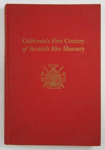 Masonic History Ancient Accepted Scottish Rite Freemasonry California 1962