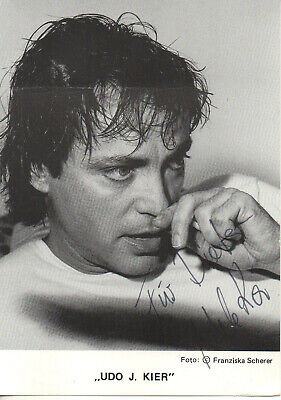 Autogramm - Udo J. Kier