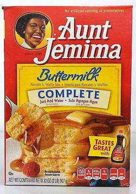 Aunt Jemima Buttermilk Complete Pancake & Waffle Mix 32 oz