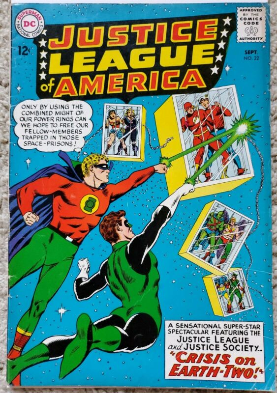 JUSTICE LEAGUE OF AMERICA #22 VG/FN 5.0 DC 9/1963