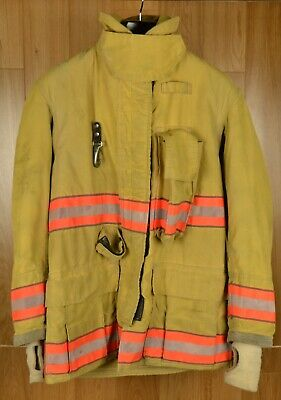2003 Globe Gx-7 Jacket 38 X 32 Firefighter Jacket Bunker Turnout Coat Rescue