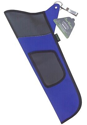 TRADITIONAL BLUE FABRIC SIDE HIP ARROW QUIVER ARCHERY PRODUCTS FAQ-111 BLUE Archery Hip Quivers
