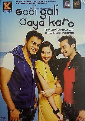 SADI GALI AAYA KARO - ORIGINAL BOLLYWOOD PUNJABI DVD - FREE POST