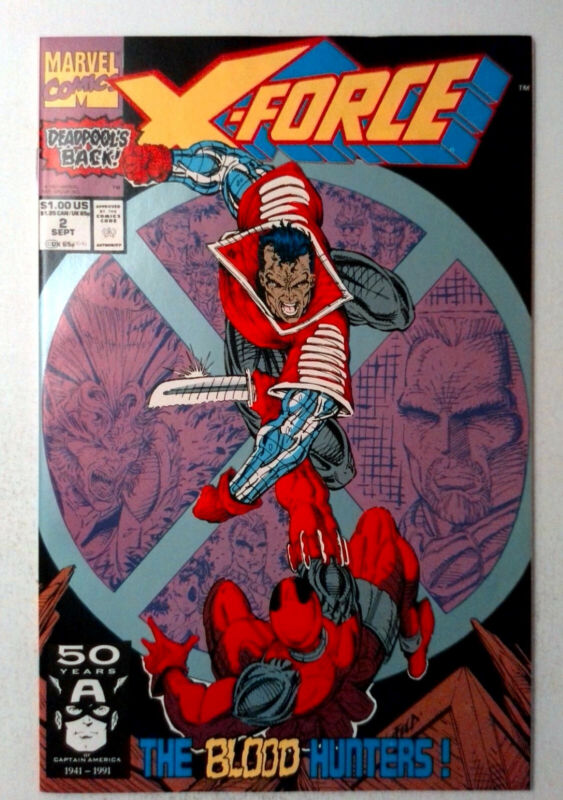 X-Force #2 (1991) Marvel 9.2 NM- Comic Book