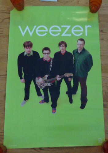 Vintage Weezer Promotional Poster 35 X 22