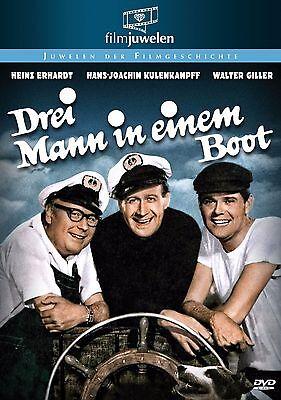 Drei Mann in einem Boot - mit Heinz Erhardt (3 Mann in 1 Boot) - Filmjuwelen DVD