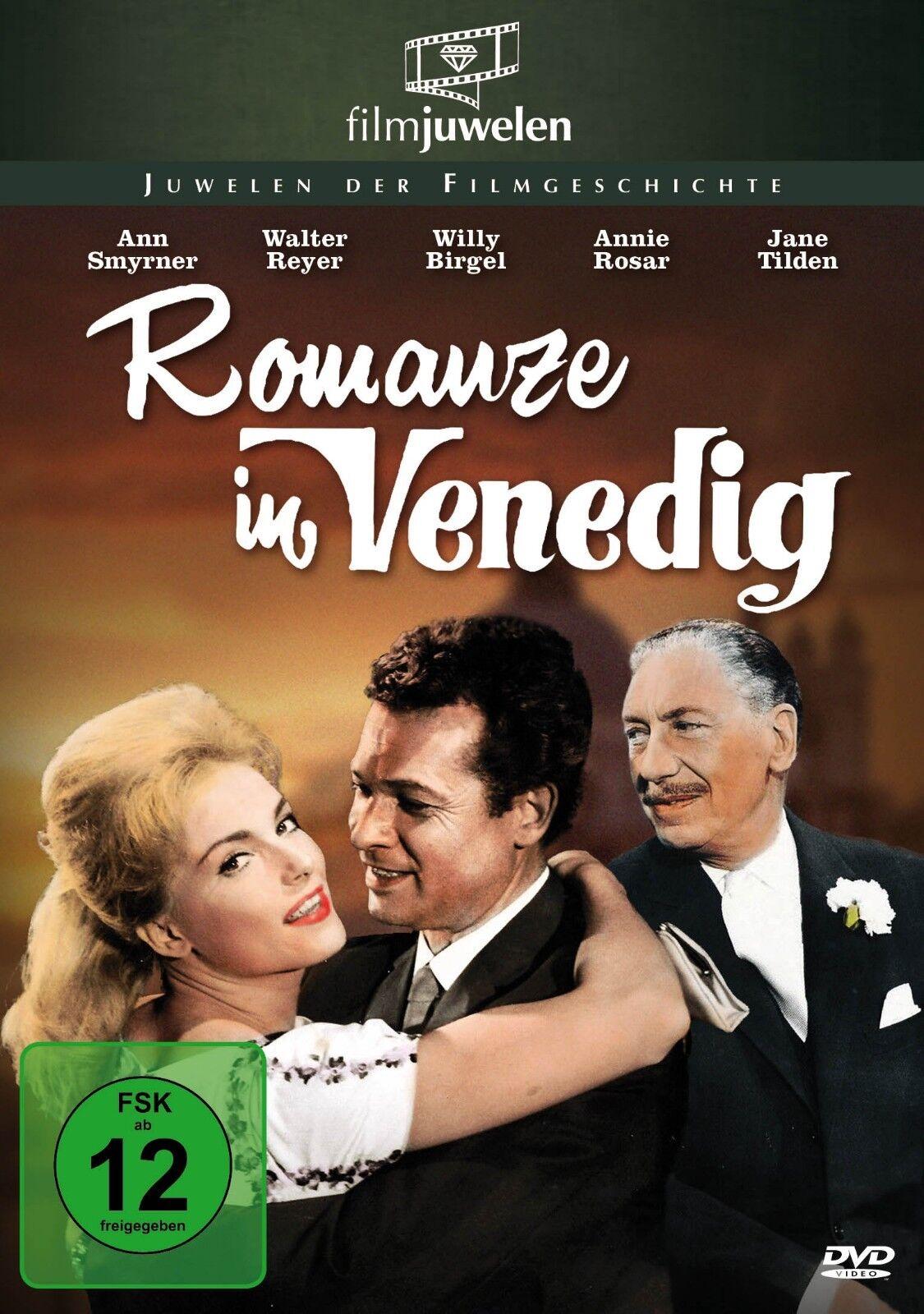 Romanze in Venedig (1962) - mit Ann Smyrner und Willy Birgel - Filmjuwelen [DVD]