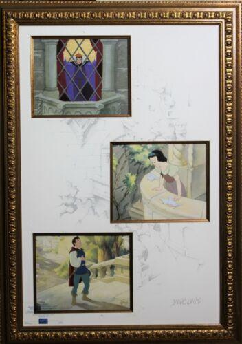 """Disney Snow White and the Seven Dwarfs """" Spellbound """" Limited Cel Art Marc Davis"""