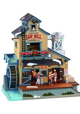 Lemax • Menards • Saw Mill • Musical Christmas Village • 10' Led •