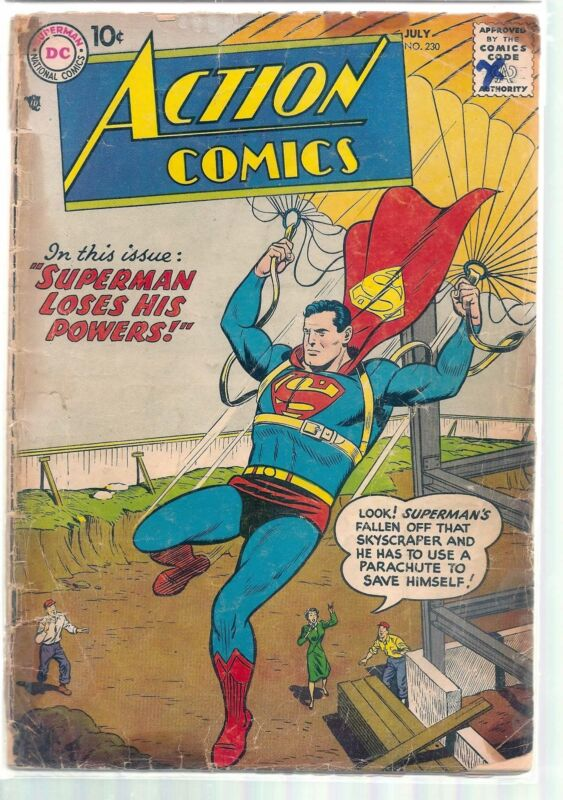 ACTION COMICS #230