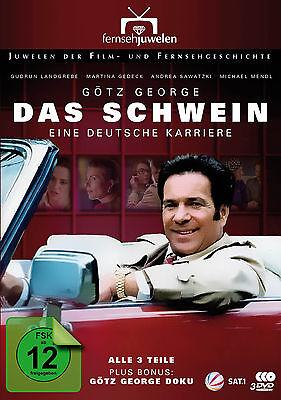 Das Schwein - Eine deutsche Karriere (Götz George) plus Doku, Fernsehjuwelen DVD