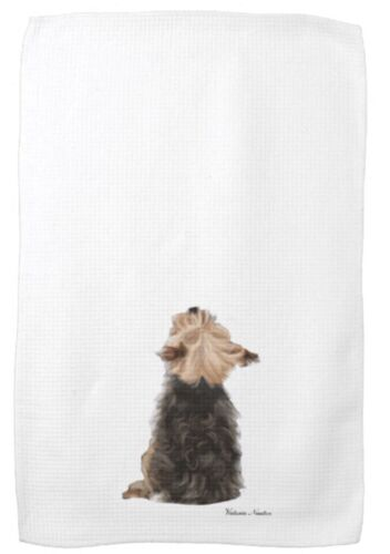 Kitchen/Tea Towel - Yorkie -Personalize for Free!