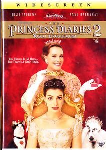 Princess Diaries 2: Royal Engagement (DVD, 2004, Widescreen) Brand New