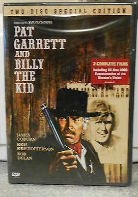 Pat Garrett and Billy the Kid (DVD 2006 2-Disc Set Special Edt) RARE 1973