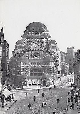 Ansichtskarte - Die Synagoge (synagogue) in Essen (Reprint)