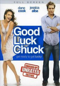 Good Luck Chuck (DVD, 2008, Unrated - Full Screen) - NEW!!