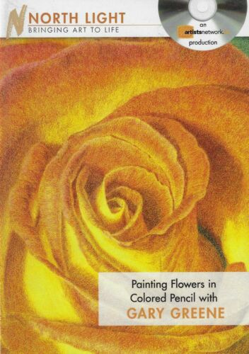 DVD - Painting Flowers in Colored Pencil with Gary Greene