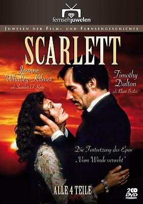 Scarlett - Teil 1-4 - Die Fortsetzung des Epos »Vom Winde verweht« [2 DVDs]