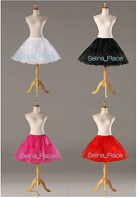 Crystal Above Knee Length Swing Vintage Crinoline Petticoat Skirt Silps TUTU 50s](Tutu Petticoat Skirt)
