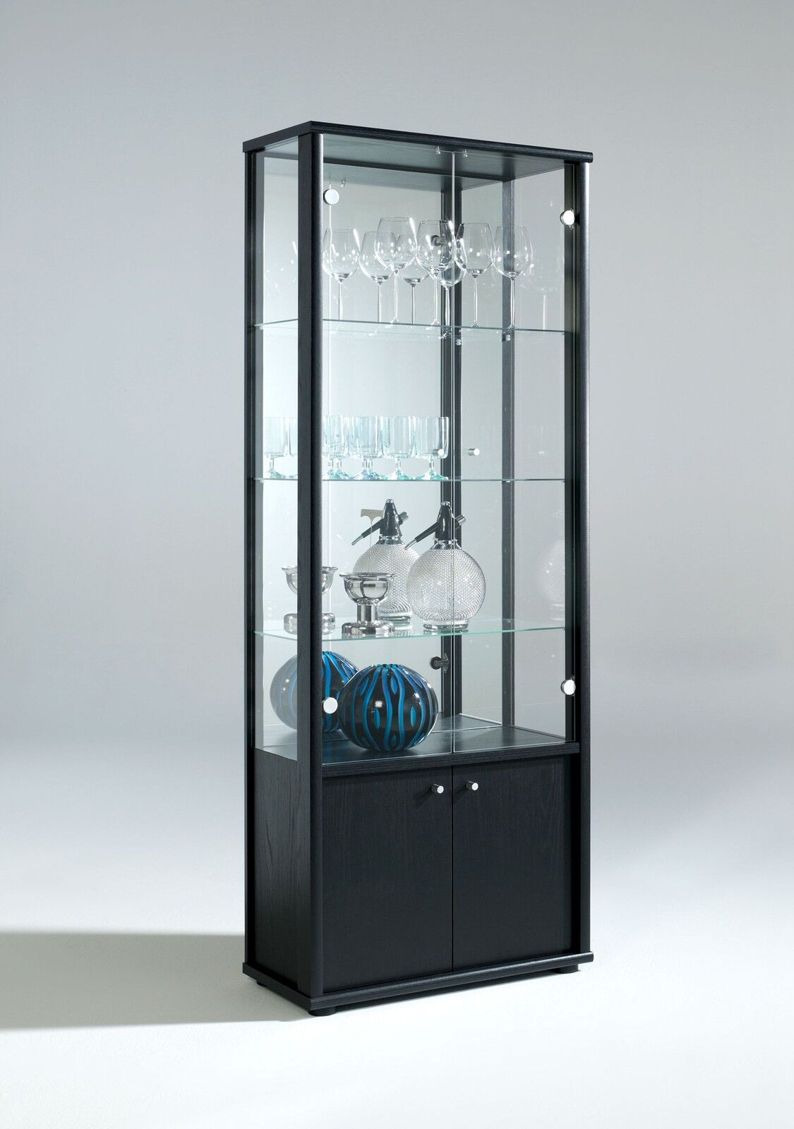 living room glass display cabinets living room neptune 1 or 2 door glass display cabinet with 23935