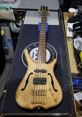 2006 WARWICK Infinity 5-String Electric Bass Natural Finish + Gig-bag
