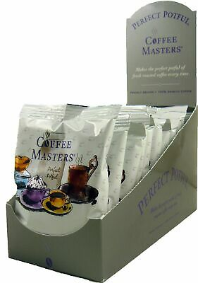 Coffee Masters Perfect Potful Breakfast Blend 1.5-Ounce Packets (Pack of 12)
