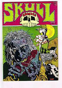 SKULL-COMICS-3-1971-Underground-Last-Gasp-RICH-CORBEN-CONAN-PARODY-LEATHER-NUN