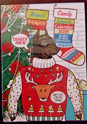 6/20 Count Down Trader Joe's Chocolate Advent Calendar 24 day 2018 PET CENTER