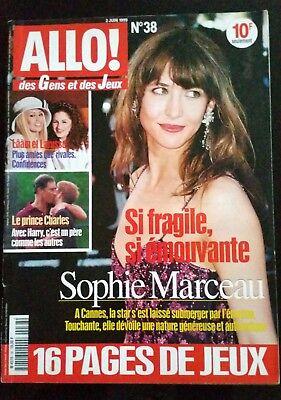 Allo !  n°60; Sophie Marceau/ Lââm et Larusso/ Le Prince Charles/ Juliette Gréco