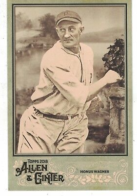 Used, 2018 Topps Allen & Ginter Cabinet Box Loader Honus Wagner Pittsburgh Pirates for sale  Bloomington