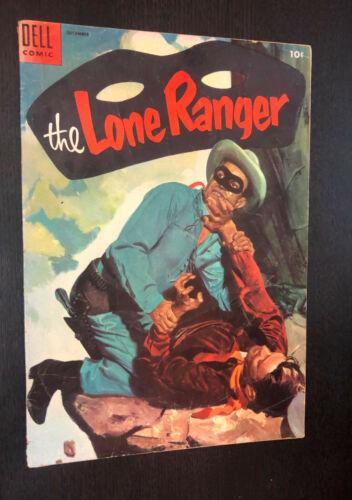 LONE RANGER #78 (Dell 1954) -- VG-
