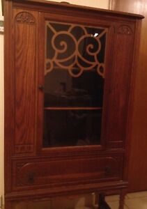 awesome antique china cabinet