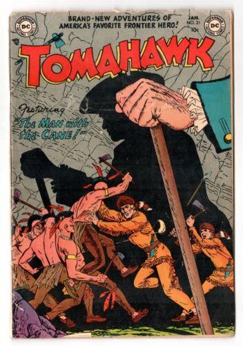 Tomahawk #21 (1950 Series) DC Comics January 1954 GD