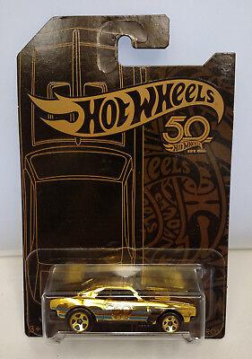 Hot wheels, 2018, 50th Anniversary, Gold Chrome Chase '67 Camaro