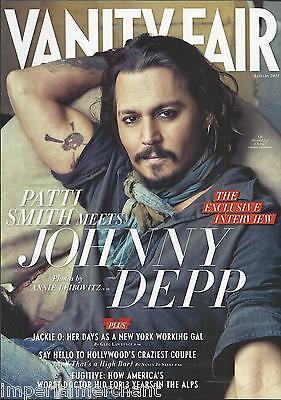 Vanity Fair magazine Johnny Depp Jackie Kennedy Randy Quaid Runaway doctor
