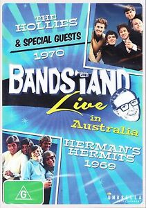 BANDSTAND * LIVE IN AUSTRALIA * THE HOLLIES 1970 HERMAN'S HERMITS 1969 * NEW DVD