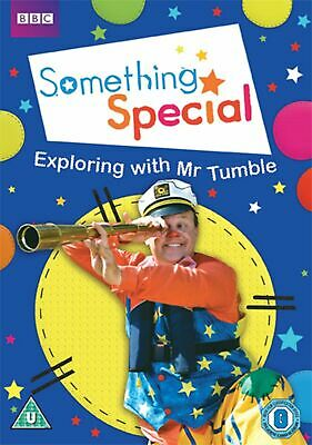 Something Special Exploring With Mr.Tumble DVD Justin Fletcher Gift Idea TV Show