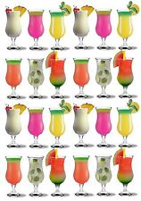 Pina Colada Cocktail Glasses. Fiesta Hurricane Large Glass Party Pack 460ml x24