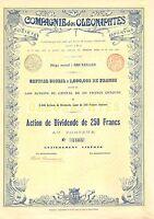 Compagnie Des Oleonaphtes Sa, Accion, 1899 (siege: Bruxelles) -  - ebay.es