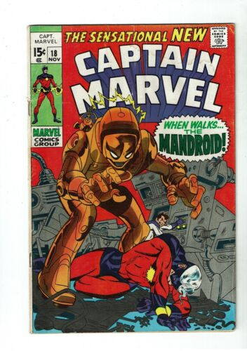 Captain Marvel #18, VG 4.0, Carol Danvers Gets Her Powers