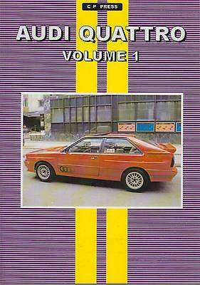 AUDI 80 100 200 SALOON QUATTRO & COUPE QUATTRO 1981-88 PERIOD ROAD TESTS BOOK
