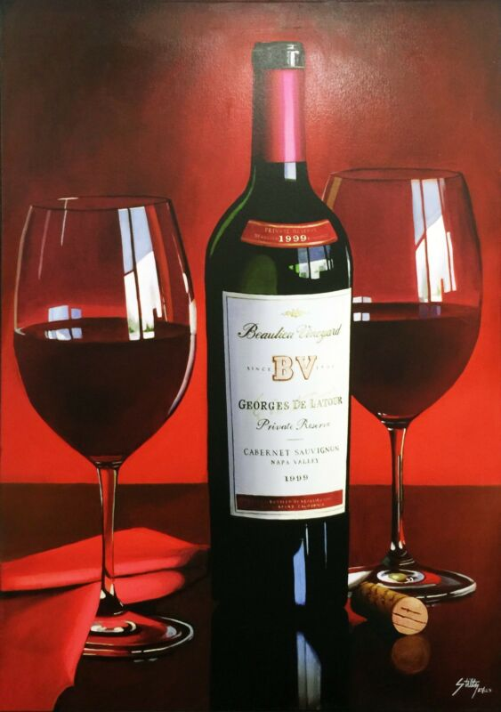 "Thomas Stiltz  ""bv Beauty"" Wine 