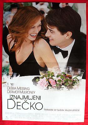 THE WEDDING DATE 2005 DEBRA MESSING DERMOT MULRONEY KILNER  SERBIAN EXYU POSTER