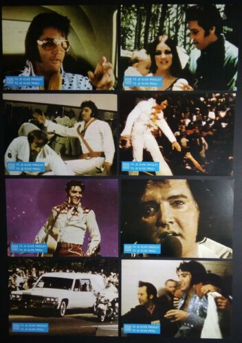 THIS IS ELVIS 1981 Elvis Presley YUGOSLAVIAN LOBBY CARDS COMPLETE SET