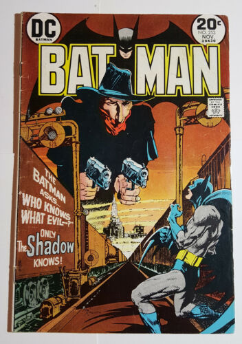 Batman #253 The SHADOW introduced to DC. Mike Kaluta Cover, O