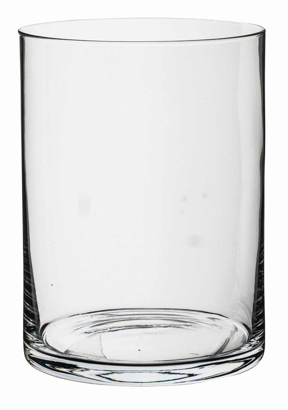 Glaszylinder Zylinder Glasvase H20cm