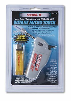 Heavy Duty Micro-jet Torch With Extended Flame Nozzle