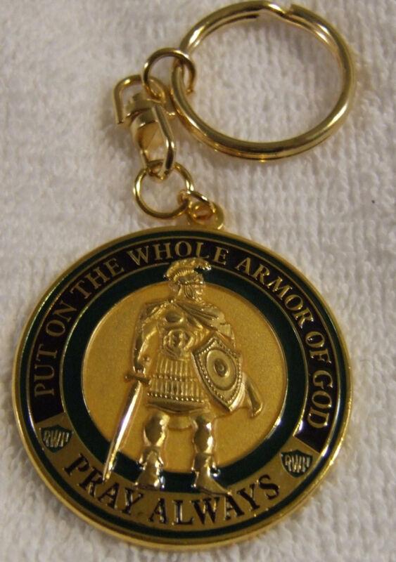 Armor of God Key Chain 1 3/4 inch @ $9.95 each