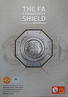 FA COMMUNITY SHIELD 2013: Manchester United v Wigan