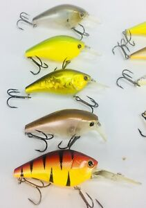 Lucky Craft crankbaits Fishing lures bass Walleye Lake Erie